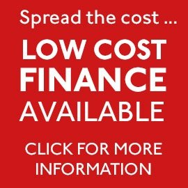 0% interest free finance now available